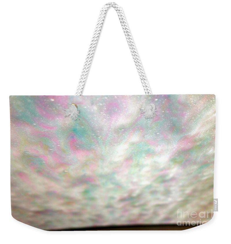 Car Wash Weekender Tote Bag featuring the photograph At The Car Wash 3 by Jacqueline Athmann