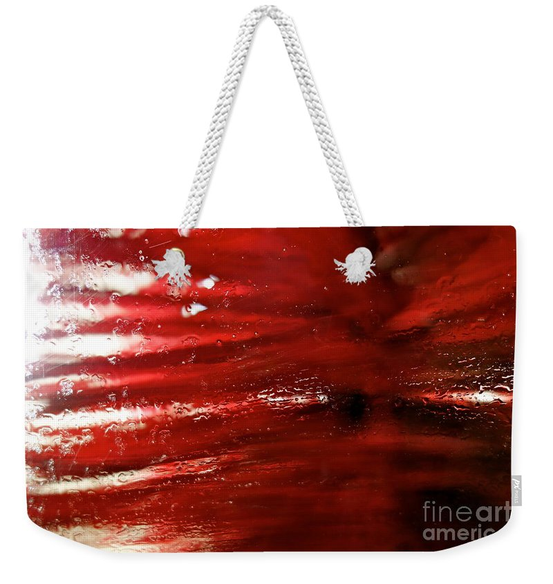 Car Wash Weekender Tote Bag featuring the photograph At The Car Wash 9 by Jacqueline Athmann