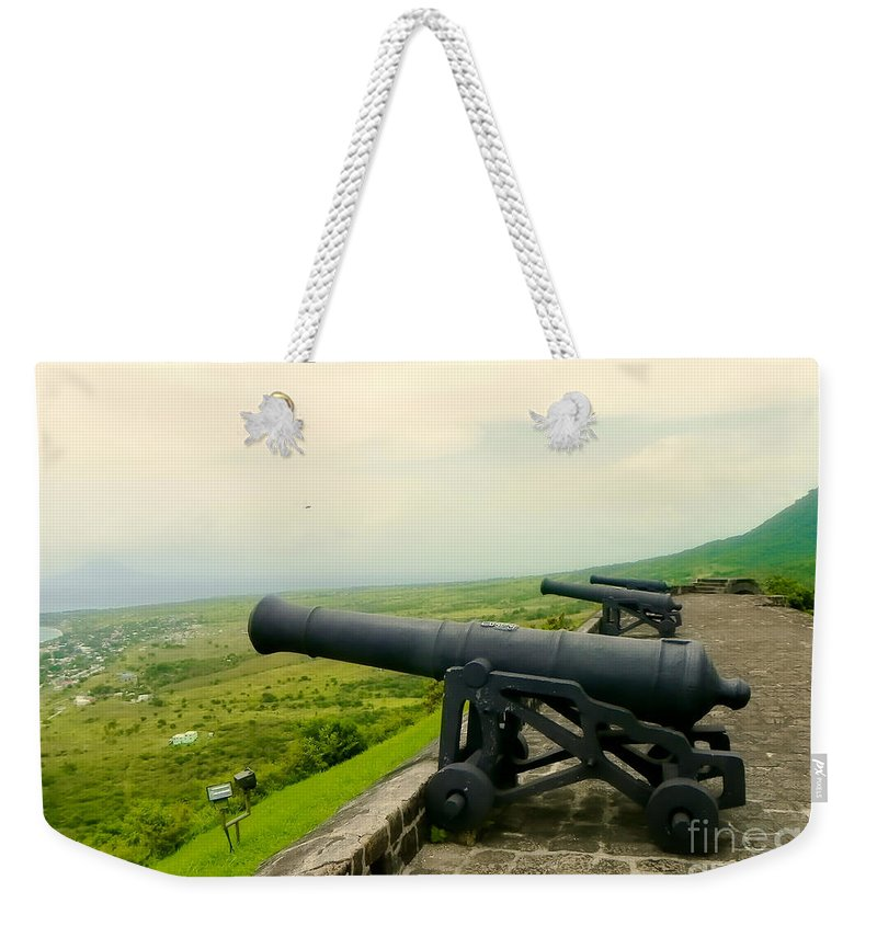 Lamdscapes Weekender Tote Bag featuring the photograph At The Ready by Paul Smith