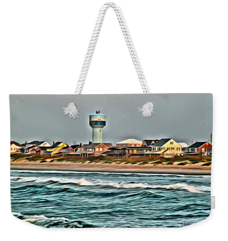 Atlantic Weekender Tote Bag featuring the photograph Atlantic Beach by Scott Hervieux