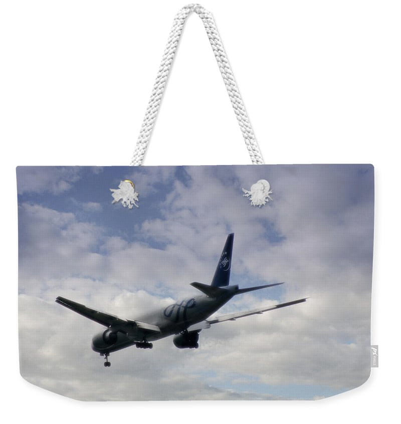 Australia Weekender Tote Bag featuring the photograph Australian Sky Team by Doc Braham