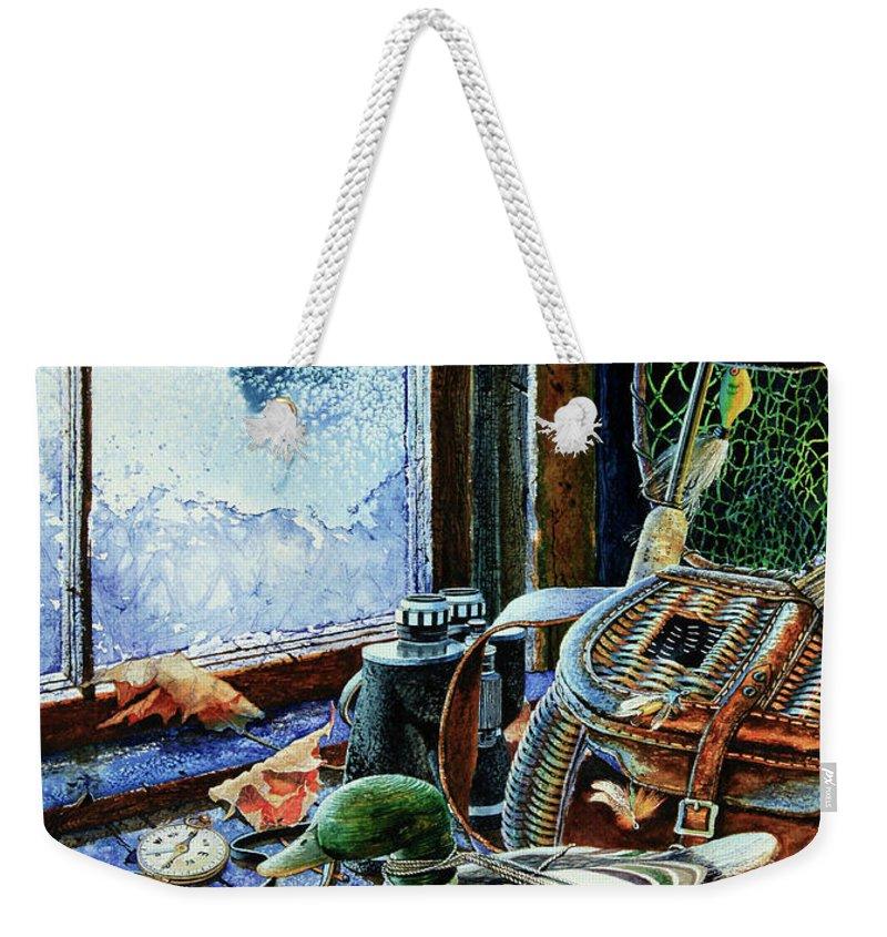 Autumn Memories Weekender Tote Bag featuring the painting Autumn Memories by Hanne Lore Koehler