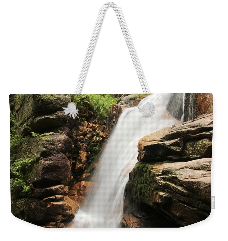 Avalanche Falls Weekender Tote Bag featuring the photograph Avalanche Falls by Jemmy Archer