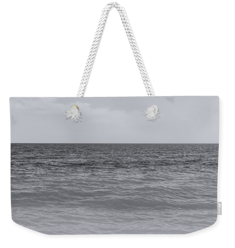 Monochrome Landscapes Weekender Tote Bag featuring the photograph Avalon by Andrea Mazzocchetti