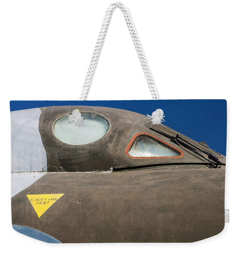 Avro Vulcan B.mk 2 Bomber Weekender Tote Bag featuring the photograph Avro Vulcan B.mk 2 Bomber by Carol Leigh