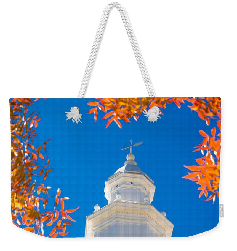 Steeple Weekender Tote Bags