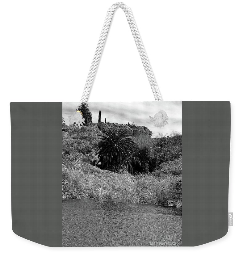 Ayer Weekender Tote Bag featuring the photograph Ayer Lake 2 by Kathleen Struckle
