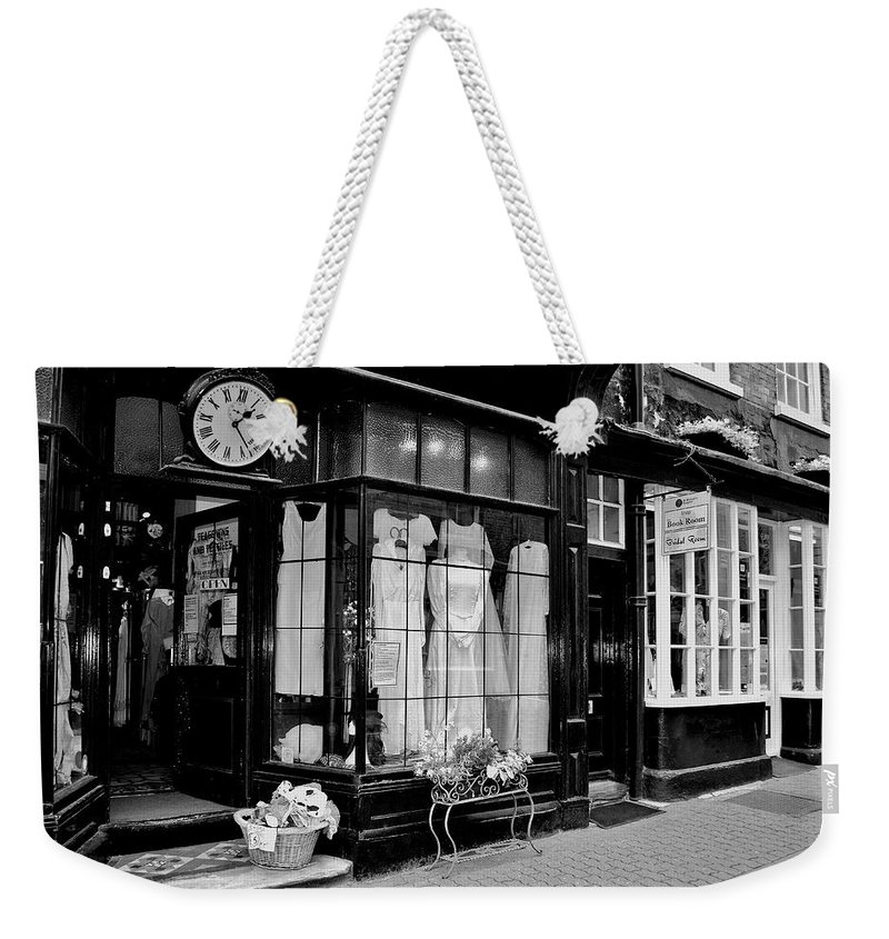 Vintage Weekender Tote Bag featuring the photograph Back In Time by Pennie McCracken