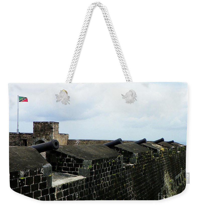 Landscape Weekender Tote Bag featuring the photograph Back Off by Paul Smith