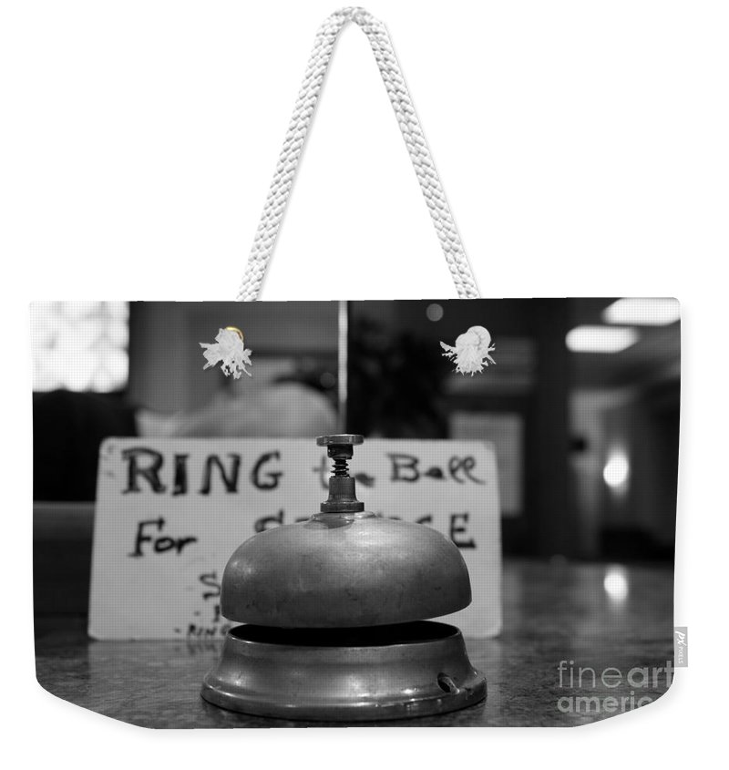Ring Weekender Tote Bag featuring the photograph Back Soon - Maybe by Donato Iannuzzi