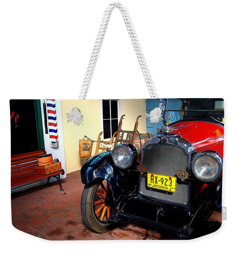 Fine Art Weekender Tote Bag featuring the photograph Back Then by Rodney Lee Williams