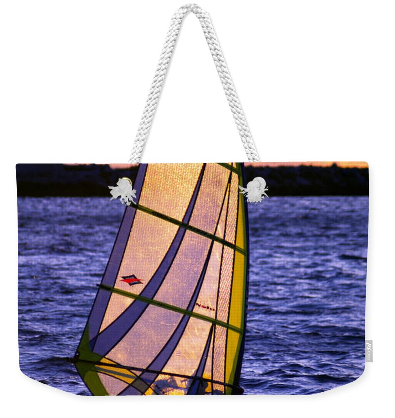 Wind Weekender Tote Bag featuring the photograph Backlight by Joe Geraci