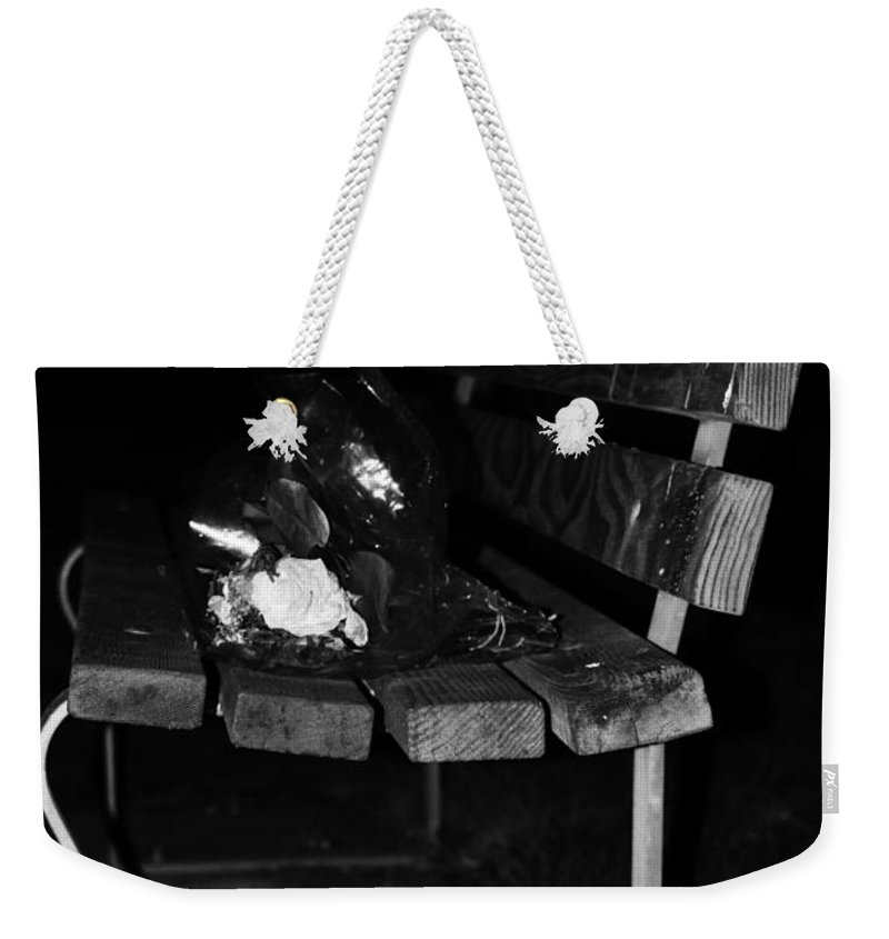 Street Photographer Weekender Tote Bag featuring the photograph Bad Date by The Artist Project