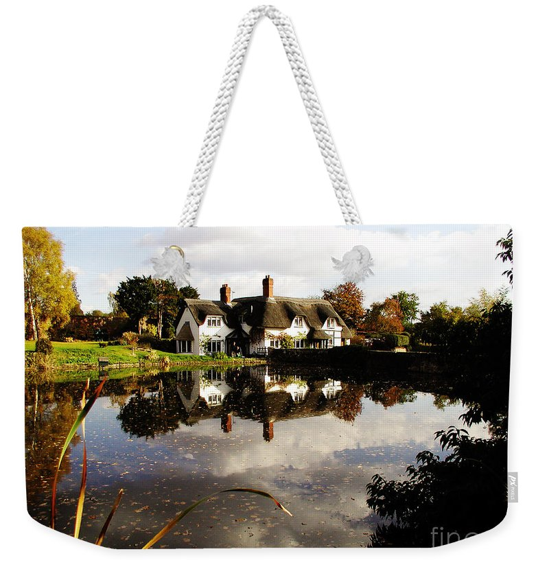 England Weekender Tote Bag featuring the photograph Badger House by Neil Finnemore
