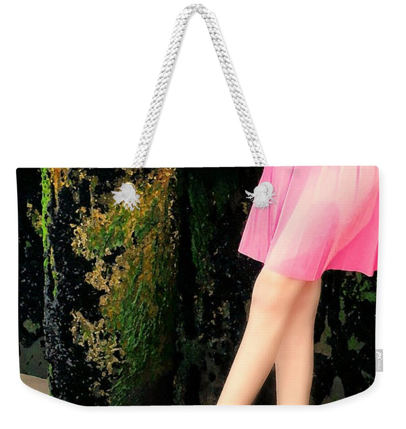 Portrait Weekender Tote Bag featuring the photograph Ballet Point by Diana Angstadt