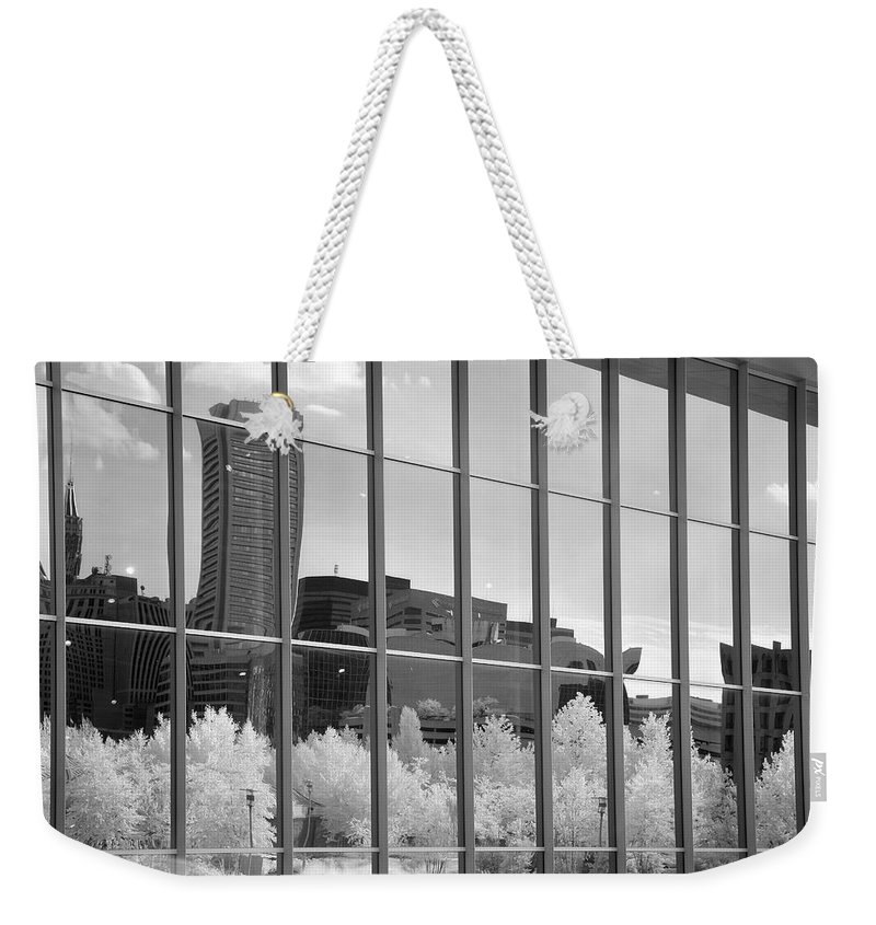 Baltimore Weekender Tote Bag featuring the photograph Baltimore Skyline by John Cardamone