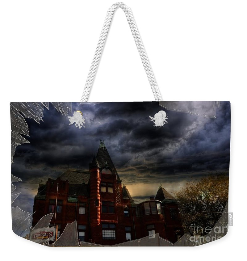 Barbosa's Mexican Restaurant Weekender Tote Bag featuring the photograph Barbosa's Mexican Restaurant by Liane Wright