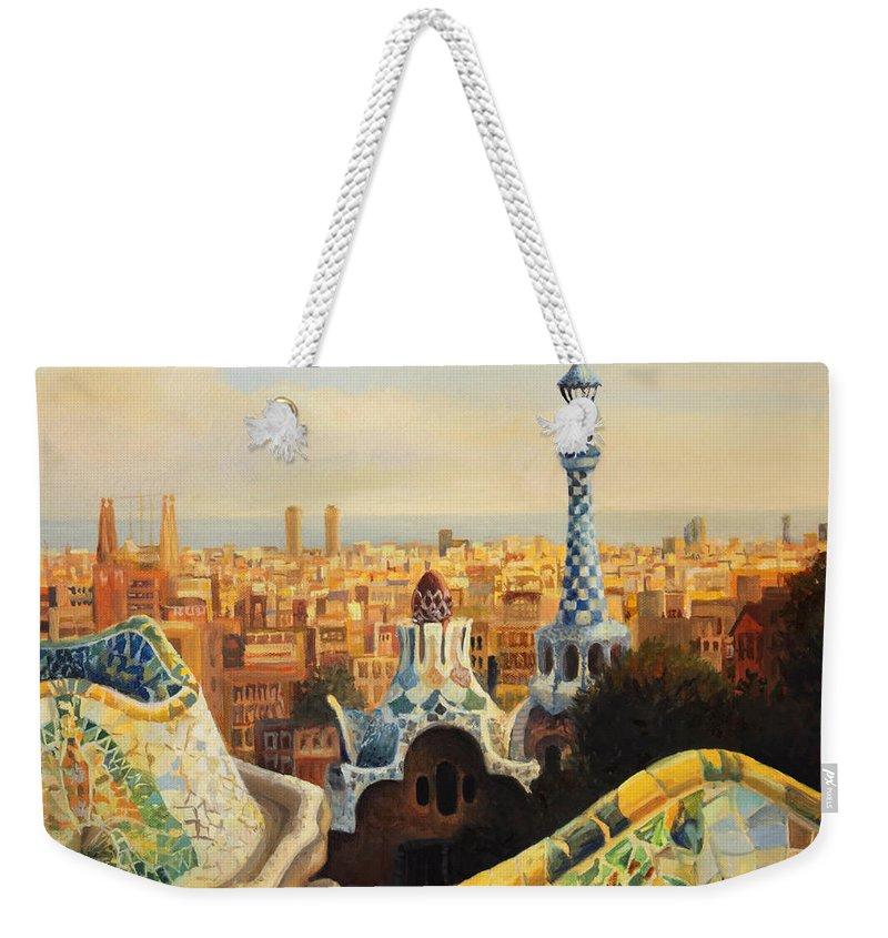 Barcelona Weekender Tote Bags