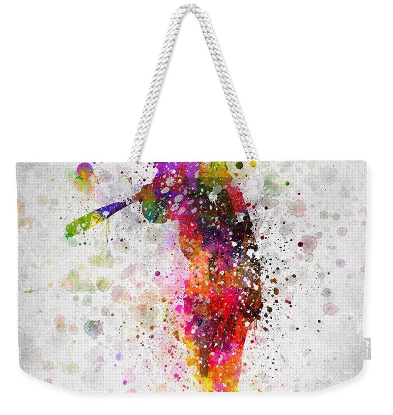 Softball Weekender Tote Bags