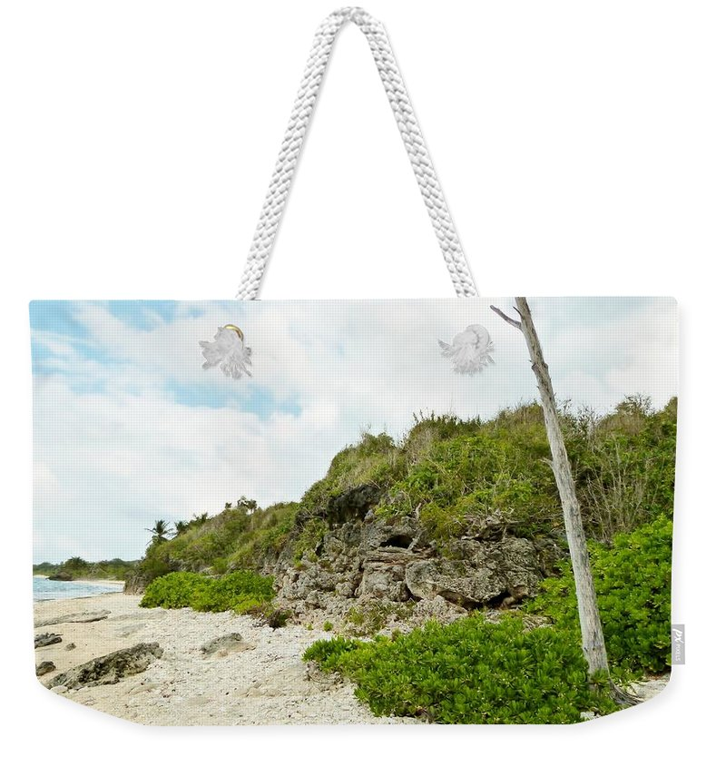Color Weekender Tote Bag featuring the photograph Bat Cave by Amar Sheow