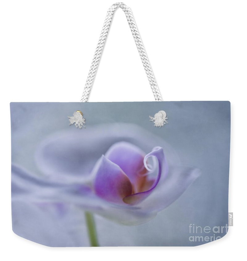 Orchid Weekender Tote Bag featuring the photograph Bathing In Light by Maria Ismanah Schulze-Vorberg
