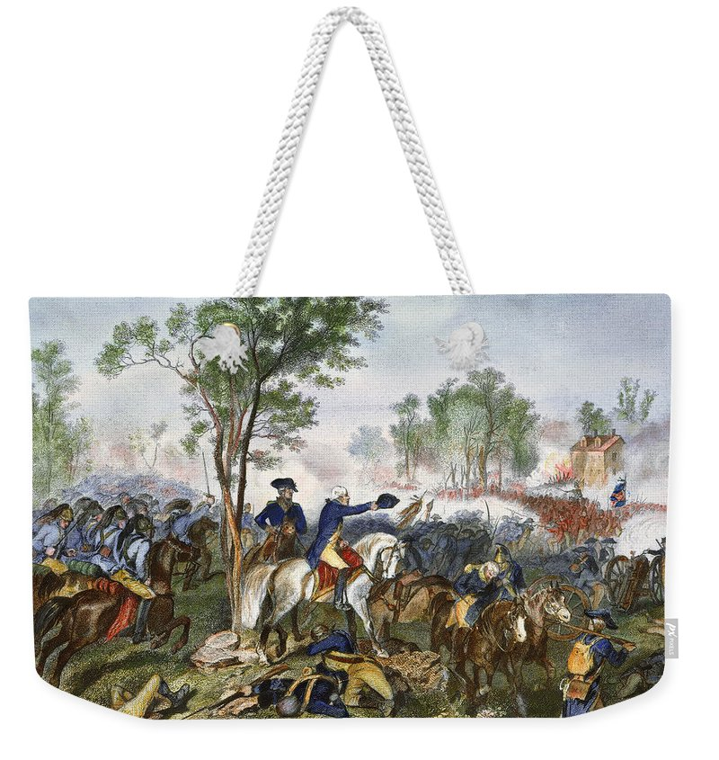 1781 Weekender Tote Bag featuring the photograph Battle Of Eutaw Springs by Granger