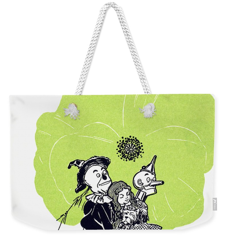 1900 Weekender Tote Bag featuring the photograph Baum: The Wizard Of Oz by Granger