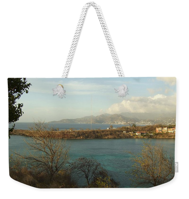 Weekender Tote Bag featuring the photograph Bbc Beach by Katerina Naumenko