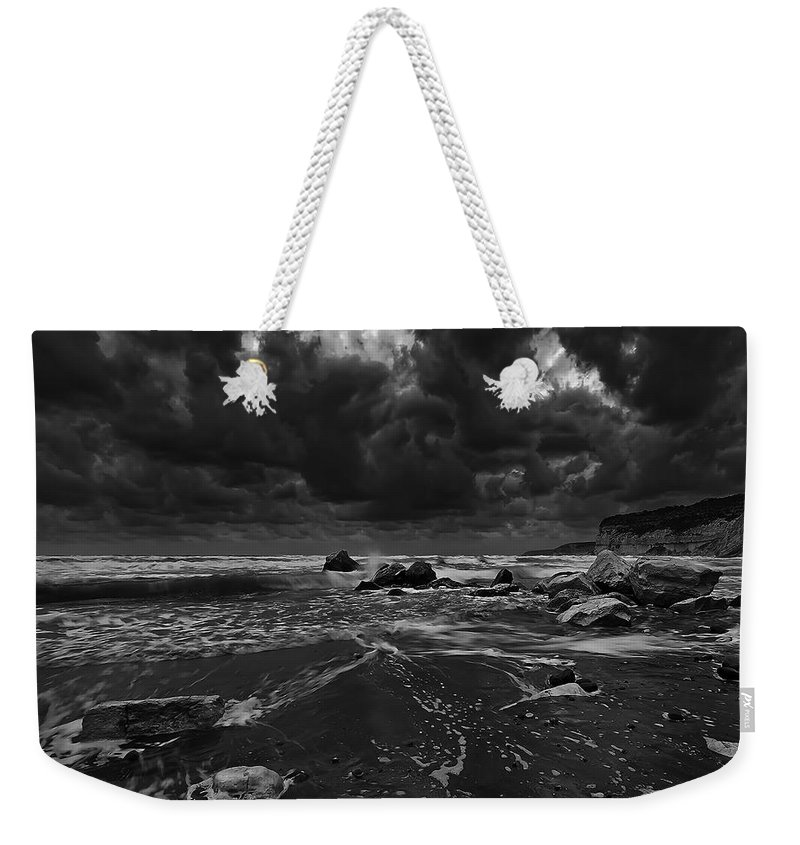 Beach Weekender Tote Bag featuring the photograph Beach 31 by Ingrid Smith-Johnsen