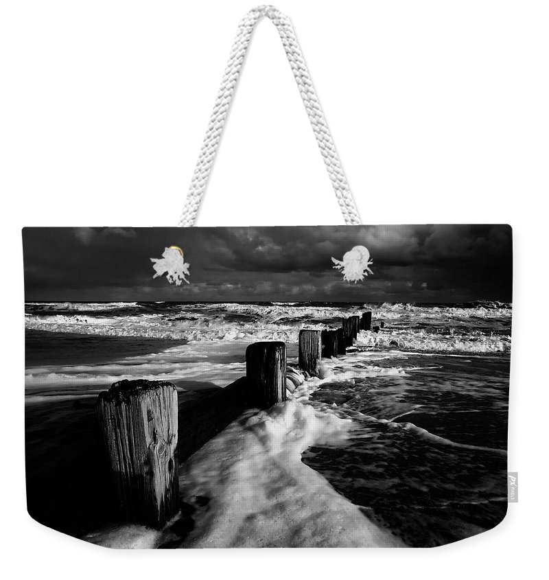 Beach Weekender Tote Bag featuring the photograph Beach 28 by Ingrid Smith-Johnsen