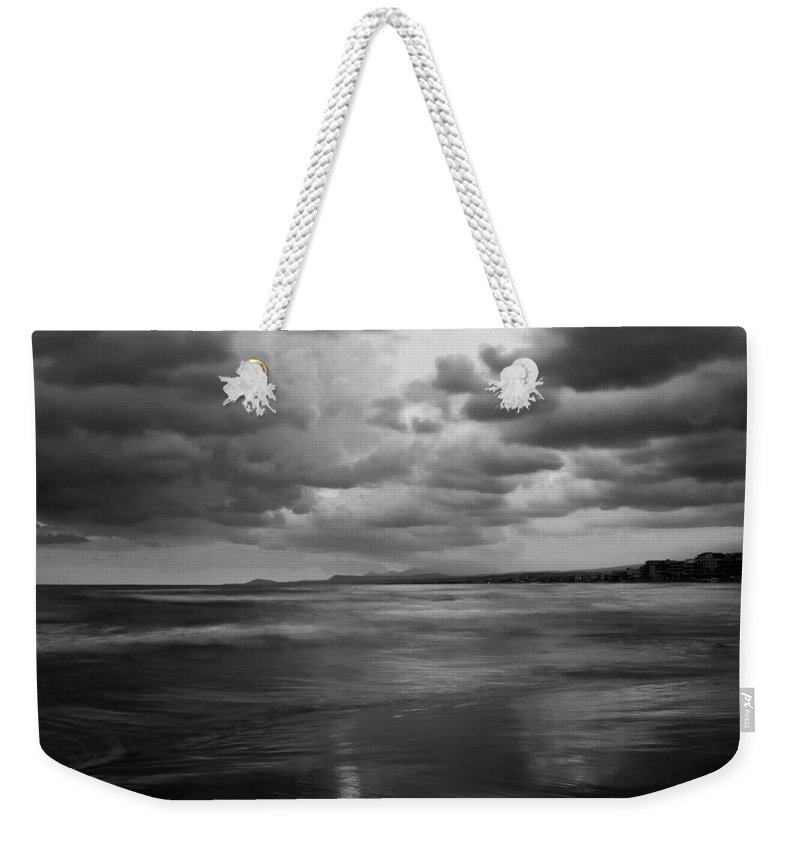 Beach Weekender Tote Bag featuring the photograph Beach 11 by Ingrid Smith-Johnsen