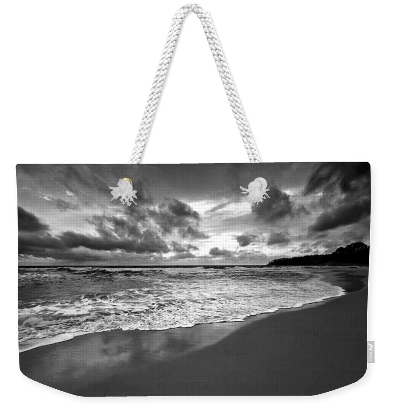Beach Weekender Tote Bag featuring the photograph Beach 9 by Ingrid Smith-Johnsen