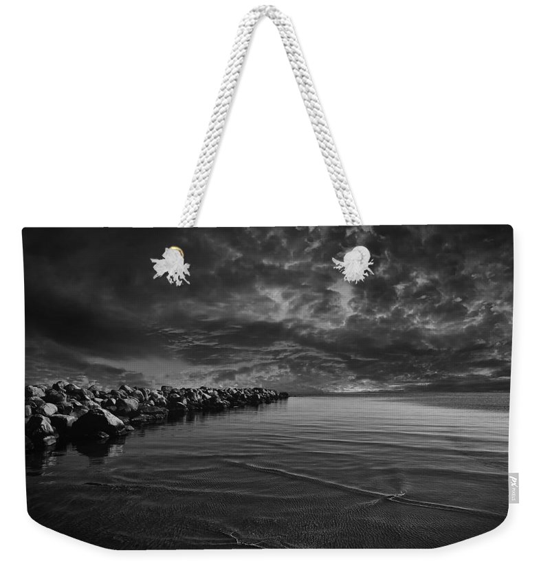 Beach Weekender Tote Bag featuring the photograph Beach 7 by Ingrid Smith-Johnsen