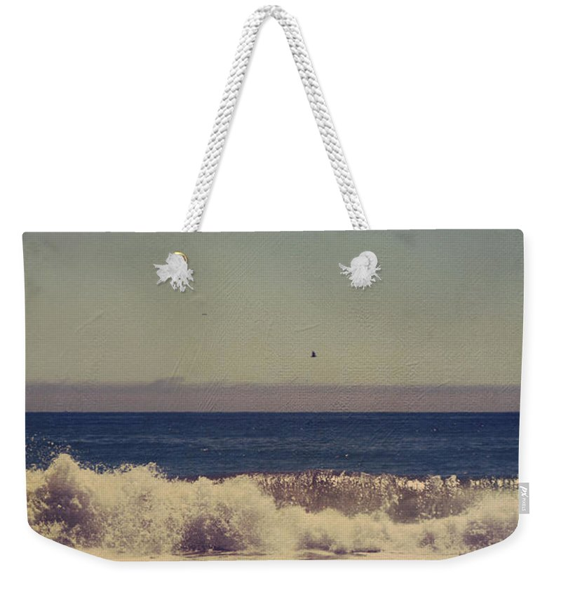Aptos Weekender Tote Bag featuring the photograph Beach Days by Laurie Search
