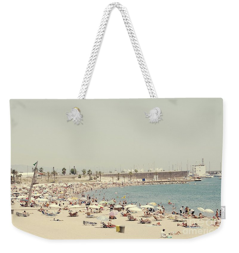 Photography Weekender Tote Bag featuring the photograph Beach Holiday by Ivy Ho