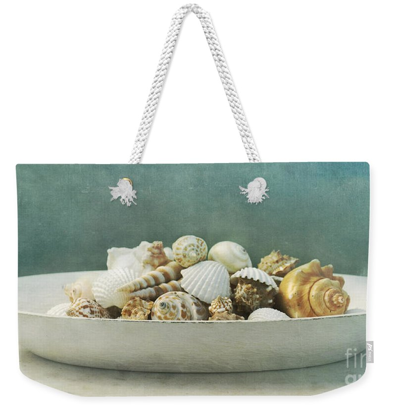 Maritim Weekender Tote Bag featuring the photograph Beach In A Bowl by Priska Wettstein