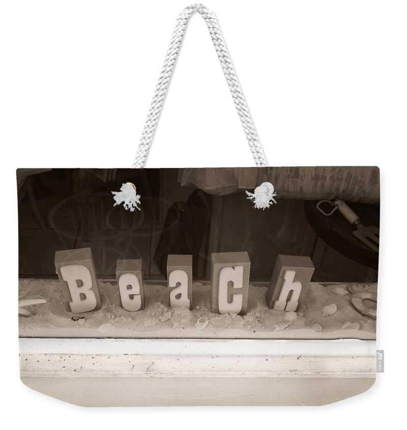 Beach Weekender Tote Bag featuring the photograph Beach by John Cardamone