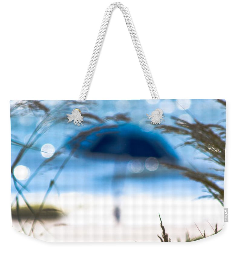 Beach Weekender Tote Bag featuring the photograph Beach Scene by Gaurav Singh