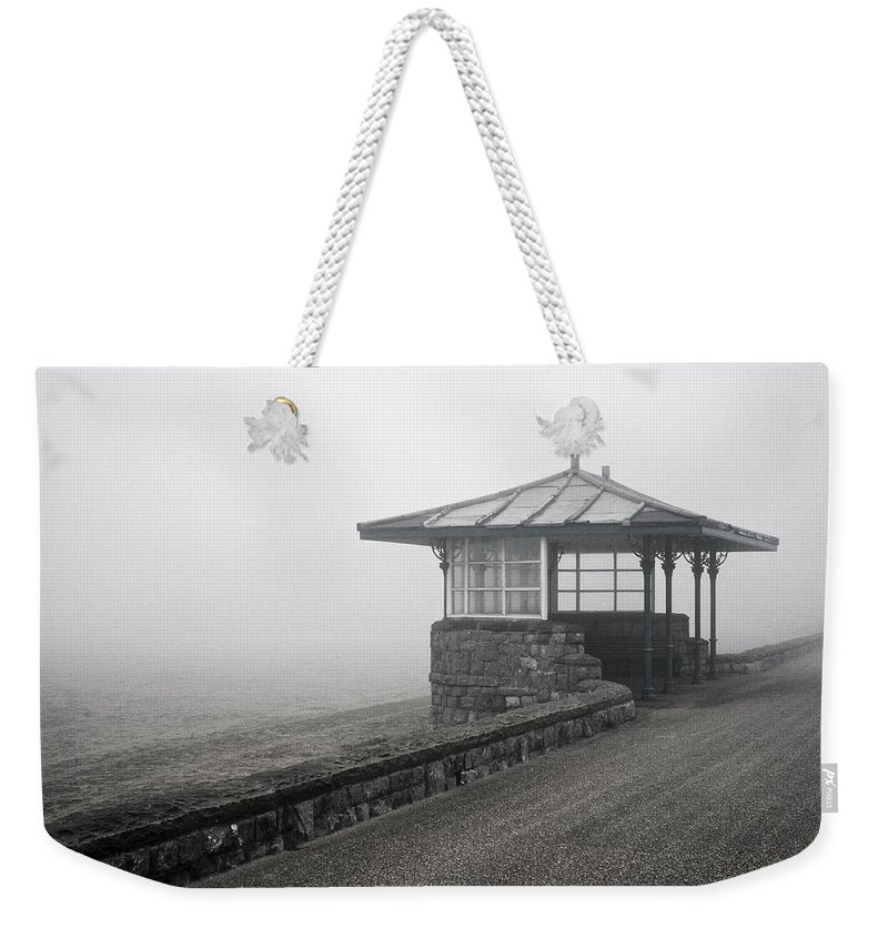 Uk Weekender Tote Bag featuring the photograph Beach Shelter by Christopher Rees