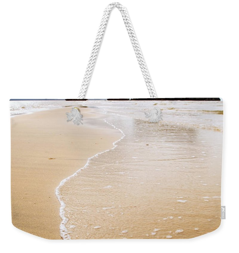 Malaysia Weekender Tote Bag featuring the photograph Beach Sunset by Tim Hester
