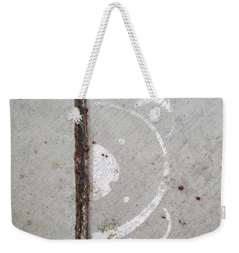 Bear Weekender Tote Bag featuring the photograph Bear Aware by Joseph Yarbrough