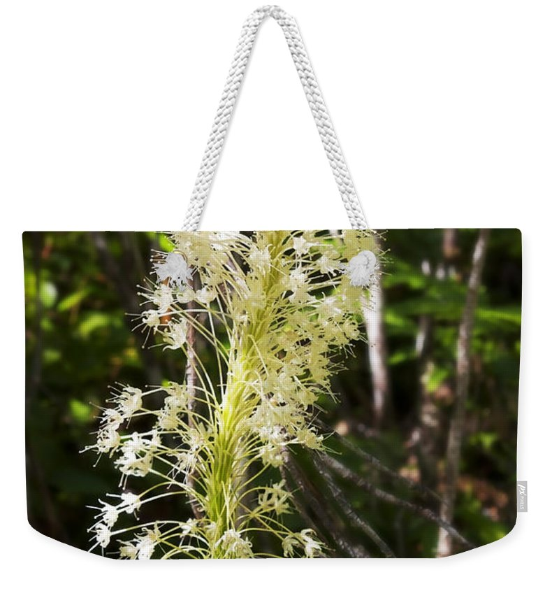 Art Weekender Tote Bag featuring the photograph Bear Grass No 3 by Belinda Greb