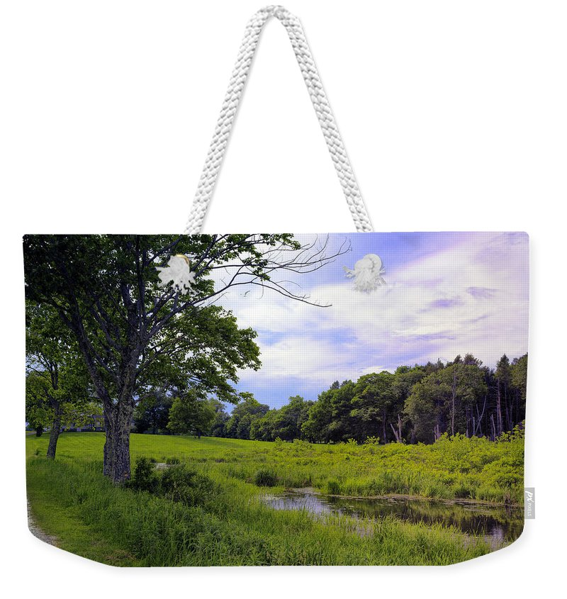 Road Weekender Tote Bag featuring the photograph Beautiful Bethel by Madeline Ellis