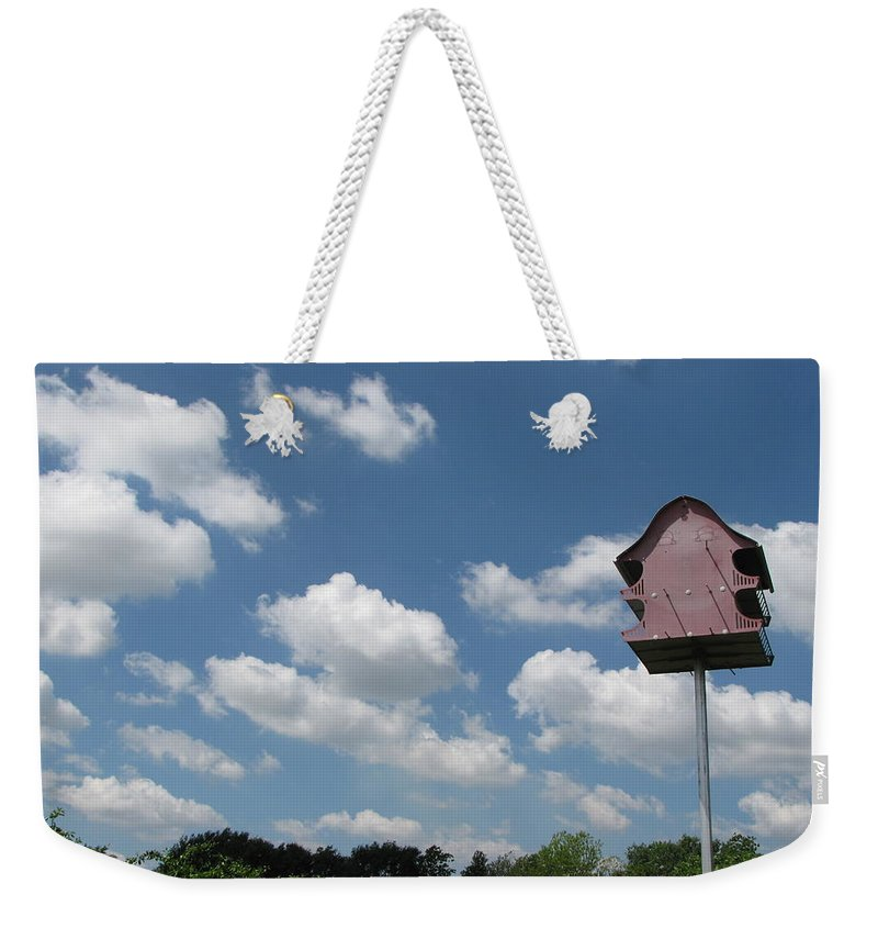 Sky Weekender Tote Bag featuring the photograph Beautiful Day by Beth Vincent