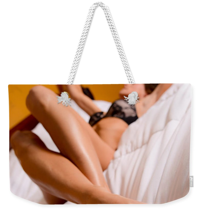 Skincare Weekender Tote Bag featuring the photograph Beautiful Feet by Jt PhotoDesign