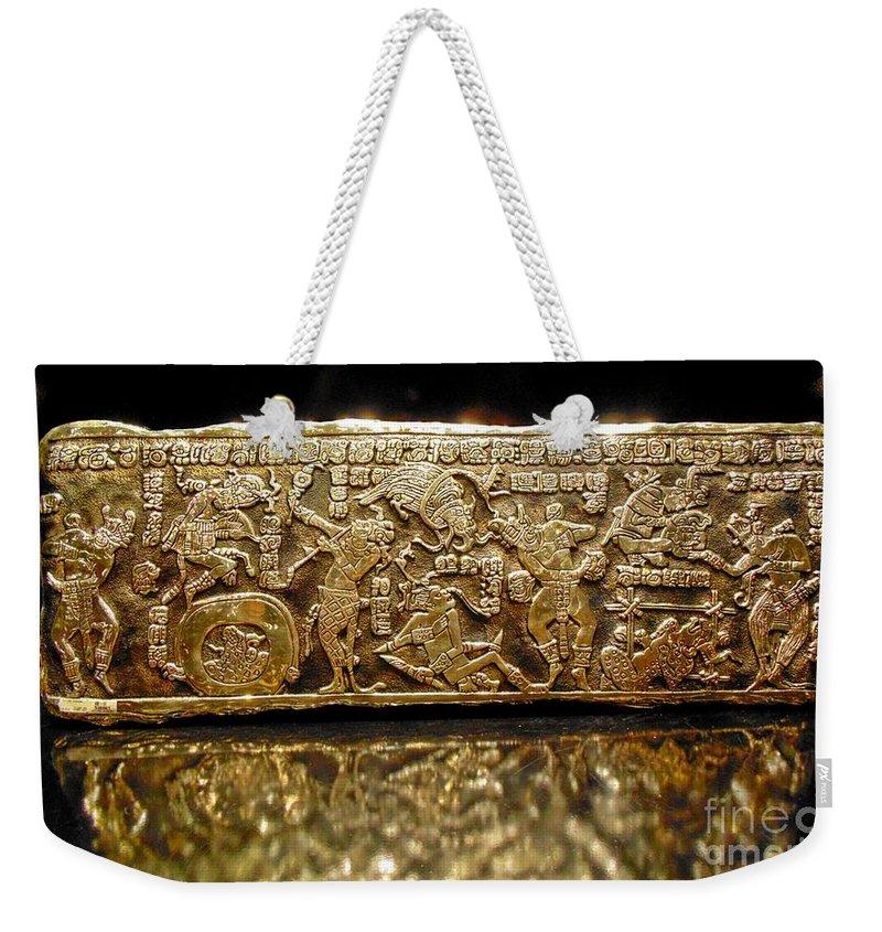 Beautiful Golden Glow Weekender Tote Bag featuring the photograph Beautiful Golden Glow by John Malone