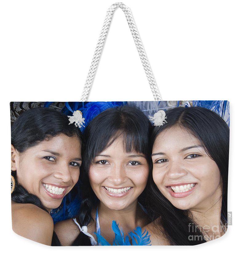 Boi Bumba Weekender Tote Bag featuring the photograph Beautiful Women Of Brazil 10 by David Smith