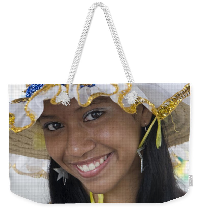 One Weekender Tote Bag featuring the photograph Beautiful Women Of Brazil 11 by David Smith
