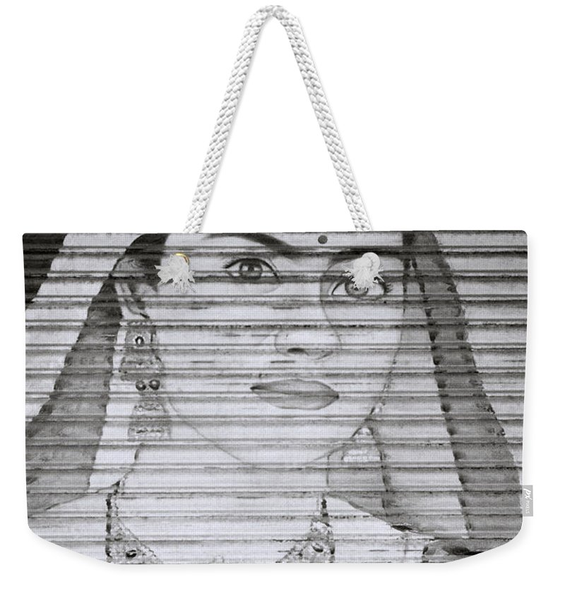 Woman Weekender Tote Bag featuring the photograph A Beautiful Woman by Shaun Higson
