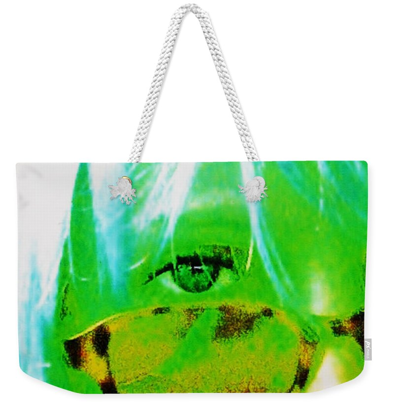Woman Weekender Tote Bag featuring the photograph Beauty Is In The Eye Of The Beholder by Sheryl Chapman Photography